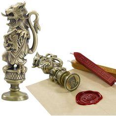 Gryffindor - Seal stamp by Harry Potter