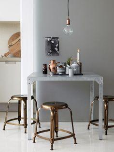 Wat trendy koperen accessoires geven al snel een modern gevoel aan een woning