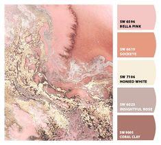 Sherwin-Williams - ColorSnap von Nancy P. Color Schemes Colour Palettes, Paint Color Schemes, Colour Pallette, Color Combos, Room Colors, House Colors, Wall Colors, Scrapbooking Shabby, Pantone