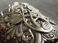 Silver Statement Cuff Game of Thrones Jewelry Celtic by Serrelynda