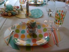 Easter 2010 Place Setting