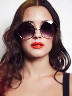 c1aa75d1f90 Oversized Round Sunglasses by shevamps on Etsy