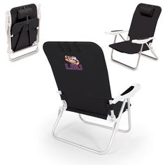 Use this Exclusive coupon code: PINFIVE to receive an additional 5% off the Louisiana State University Monaco Beach Chair at SportsFansPlus.com