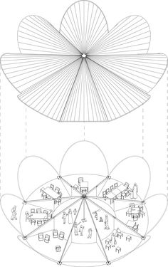Maidan Tent - Architectural Aid for Europe's Refugee Crisis,© Bonaventura Visconti di Modrone, Leo Bettini Oberkalmsteiner Biomimicry Architecture, Conceptual Architecture, Pavilion Architecture, Architecture Plan, Landscape Architecture, Round House Plans, Gropius Bau, Temporary Architecture, Refugee Crisis
