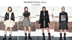 Women's Fall 2015 Collection: COACH