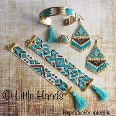 off loom beading Loom Bracelet Patterns, Seed Bead Patterns, Bead Loom Bracelets, Woven Bracelets, Jewelry Patterns, Beading Patterns, Beading Ideas, Seed Bead Jewelry, Bead Jewellery