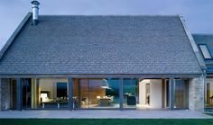 Contemporary House Design Renovated from Barn House - Yard Norton House, Barn House Design, Architecture Résidentielle, Architects London, Agricultural Buildings, Contemporary Barn, Casa Clean, Converted Barn, House Yard