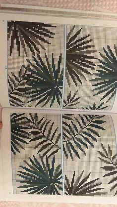This Pin was discovered by Ozg Cross Stitch Numbers, Cross Stitch Borders, Cross Stitch Flowers, Cross Stitching, Cross Stitch Embroidery, Cross Stitch Patterns, Crochet Curtains, Rico Design, Bargello