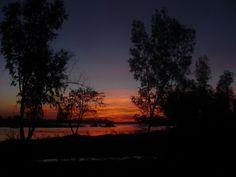 Atardecer en el parque - Guamuchil, Sinaloa