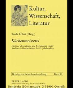 Culinary skill in 15th century (German)