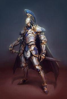 ArtStation - White knight, Bo Yeon Won