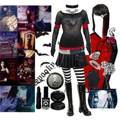 """Vampire Kisses - Raven Madison"" by octoburfrost on Polyvore"