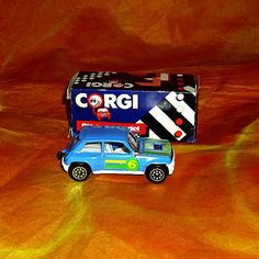 BP Team Renault 5 Turbo Diecast Car Corgi by WelshGoatVintage - SOLD OUT