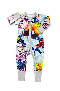BONDS Zip Wondersuit | Super Tropic Print
