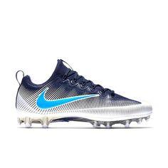 aa75552b0 Advertisement(eBay) NEW Nike Vapor Untouchable Pro Football Cleat Navy Blue  White Size 11.5