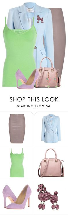 """Pastel Outfit"" by majezy ❤ liked on Polyvore featuring Jitrois, Zimmermann, BKE, Ivanka Trump and Marc Jacobs"