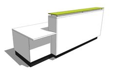Reception Desk Design Custom 14