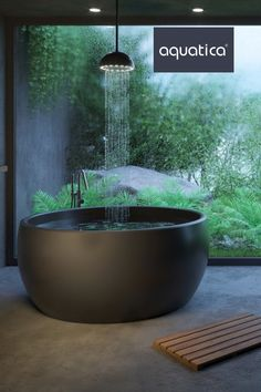 ᐈLuxury 【Stone Bathtubs】 for sale in the ⭐ Aquatica US ⭐ Online Store ✅ The best prices ✅ Made in EU ✅ Only the best materials ✅ Up to 25 year warranty Outdoor Bathrooms, Dream Bathrooms, Luxury Bathrooms, White Bathrooms, Master Bathrooms, Contemporary Bathrooms, Dream Home Design, Modern House Design, My Dream Home