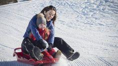 Video - The Danish Royal Crown Prince Family on winter break in Verbier - Feb 2015