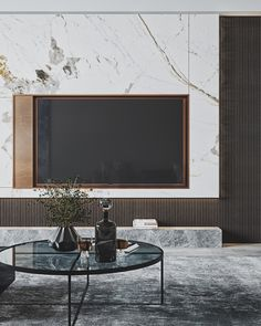 FStormRender三套现代|空间|室内设计|大师一号壹哥 - 原创作品 - 站酷 (ZCOOL) Tv Unit Interior Design, Modern Home Interior Design, Luxury Interior, Tv Feature Wall, Living Tv, Living Room Tv Unit Designs, Minimalist Living, Apartment Interior, Luxury Apartments