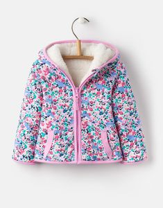 Joules Cosette Reversible Fleece in Kitty Ditsy Size Joules Uk, Girls Fleece, Baby Development, Snow Suit, Ditsy, Season Colors, Up Styles, Cute Babies, Girl Outfits