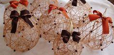 Originální vánoční ozdoby: Koule z vodního skla Christmas, Packaging, Hampers, Noel, Ideas, Xmas, Weihnachten, Yule, Jul
