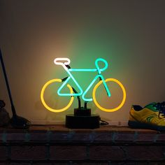 Neon Bar Pub Sign Free Standing Bicycle Bike 3D Light Sculpture - UK STOCKIST! in Home, Furniture & DIY, Lighting, Lamps   eBay