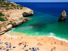 Looking for a blend of European culture and sexy beaches? Tour Portugal's picturesque old-world cities then head south to relax on the Algarve region's white-sand beaches.