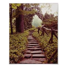 Customizable #Direction #Faith #Healing #Hiking #Hope #Inspirational #Landscapes #Light #Motivational #Path#Of#Life #Paths #Photography #Prayer #Romantic #Scenery #Soul #Spirit #Spiritual #Steps #Strength #Woods Path To Light Poster available WorldWide on http://bit.ly/2eOaGAC