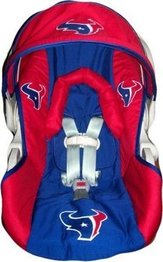 OMG Houston Texans Car Seat!!! Where was this when my little man was born?!