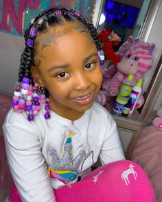 559 Likes, 43 Comments - 𝐏𝐚𝐲𝐭𝐨𝐧 𝐍𝐲𝐥𝐚𝐡 Black Kids Braids Hairstyles, Little Girls Natural Hairstyles, Cute Toddler Hairstyles, Kids Curly Hairstyles, Baby Girl Hairstyles, Children Hairstyles, Little Girl Braids, Braids For Kids, Kid Braid Styles