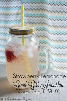 Good Girl Moonshine. Funny name, isn't it? If you follow the Trim Healthy Mama {or Man!} lifestyle, you know this is a favorite go-to drink. I was never a soda drinker, so this replaced my need for...