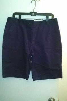 Girls Junior Bermuda Shorts Size 13 NEW