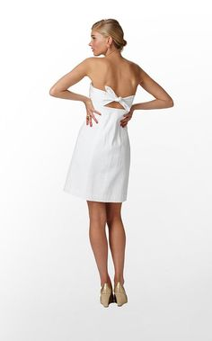 <3 The back and Front of this!  Could double as a rehearsal dinner dress.... :-D