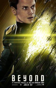 Star Trek Beyond Anton Yelchin Poster