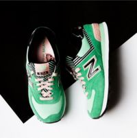 Loving mint sneakers for spring and summer fitness fashion! These #newbalance shoes from #aboutyou are the bees knees! ♥ #shoelove #sneakerhead #covetme