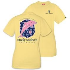 Dolphin and Pineapple Short Sleeve Tee by Simply Southern