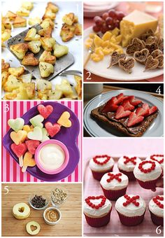 Valentine Food round up - most are healthy choices.