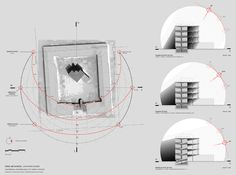 Section Drawing Architecture, Site Analysis Architecture, Conceptual Architecture, Architecture Concept Diagram, Study Architecture, Minimalist Architecture, Architecture Details, Exhibition Booth Design, Exhibition Stands