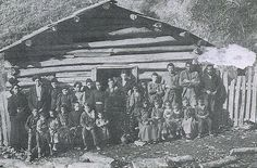 The Teacher Amp Her Class In Front Of Their Schoolhouse In