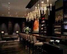 St Regis Hotel San Francisco, United States of America. #bar #lighting #design #crystal #glass #ambiance