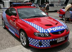 General Motors Holden Limited Commodore SS - Queensland Police Service (Traffic Branch), Australia