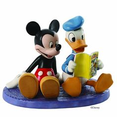 WDCC Donald And Mickey Comic Book Companions