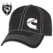DSieselTees-  Cummins Diesel Contrast Stitching Logo Hat | Available at www.DieselTees.com #cummins #dieseltees #hat