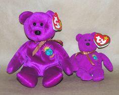 Ty Beanie Baby  Baby Millenium Bear and Teenie Baby Beanie Buddies 824b47888947