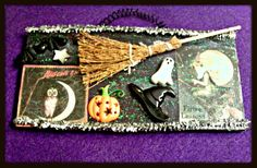 Witches Flying Lessons Sign Plaque by ghostgap on Etsy Vintage Images, Vintage Items, Vintage Halloween Photos, Flying Lessons, Special Birthday Gifts, Pink Feathers, Trinket Boxes, Witches, Handcrafted Jewelry
