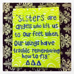 Tri Delta Sorority Craft
