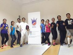 Fencing 101 with @learnlokal | See you guys next week! #RepublicFencing #Fencing #FencingTime #Makati #Manila #Philippines #Fencingposts #Igersmanila by republicfencing