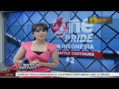 Hot Sexy Putri Violla Pinky Dress di Kabar Arena Malam TVOne 5 Desember ...