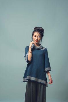 Ravelry: Kaolin Tunic pattern by Moon Eldridge
